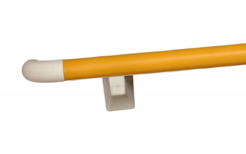 LS-696圆柱38防撞扶手-信号黄